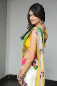 Kushi glamorous saree photos-thumbnail-14