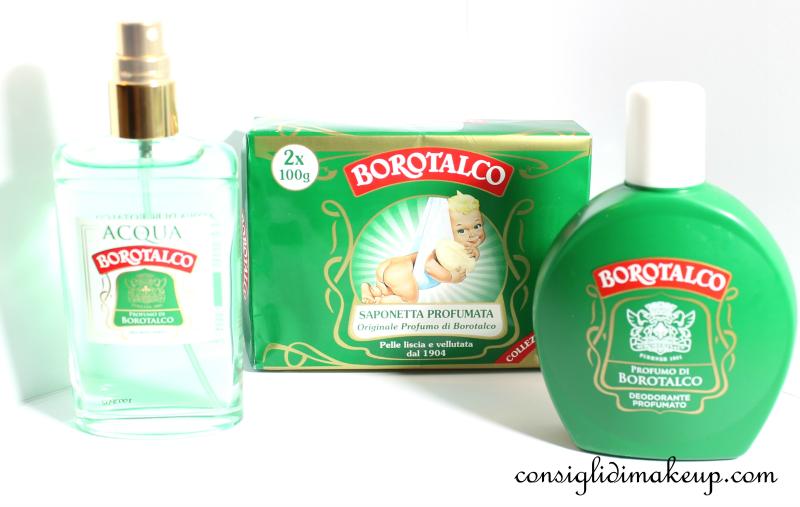 Borotalco Roberts: Acqua di Borotalco, Saponetta Profumata e Nuovo Deodorante