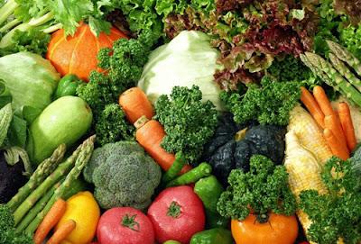 Rau củ là thực phẩm chống lão hóa da