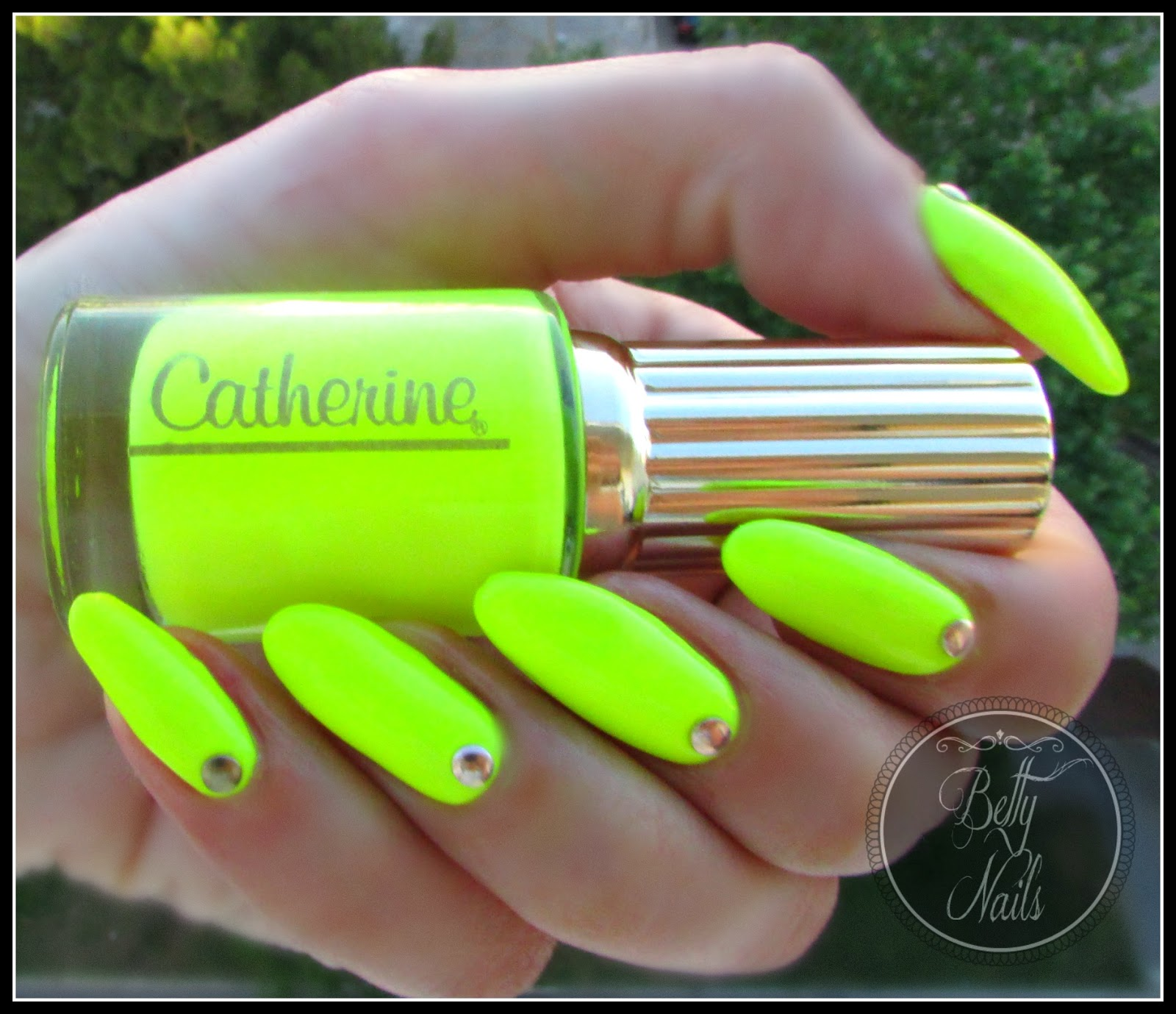Betty Nails: Catherine Neon Pop Art Collection Swatches