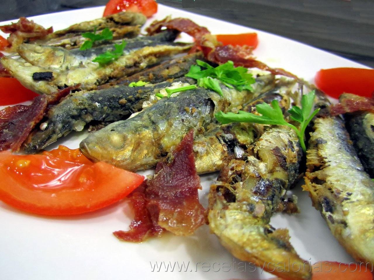 Sardinas con jamón