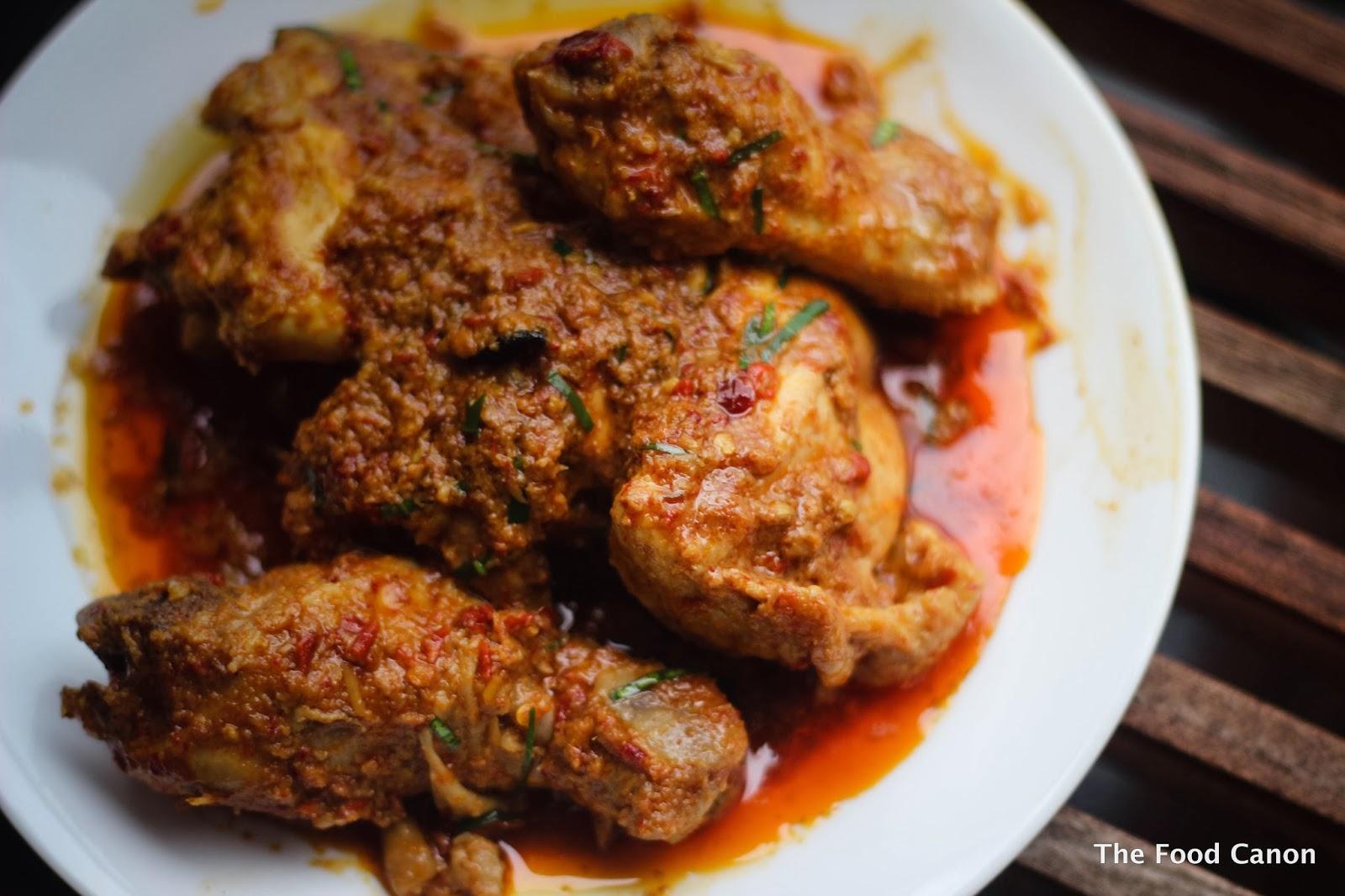 Chicken Rendang Is Crazily Good