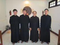 Monks in The Monastery of Saint Benedict -Thailand