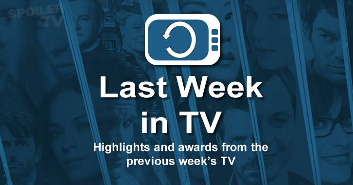 Last Week in TV - Week of Sept. 28 - Episode Awards and Review