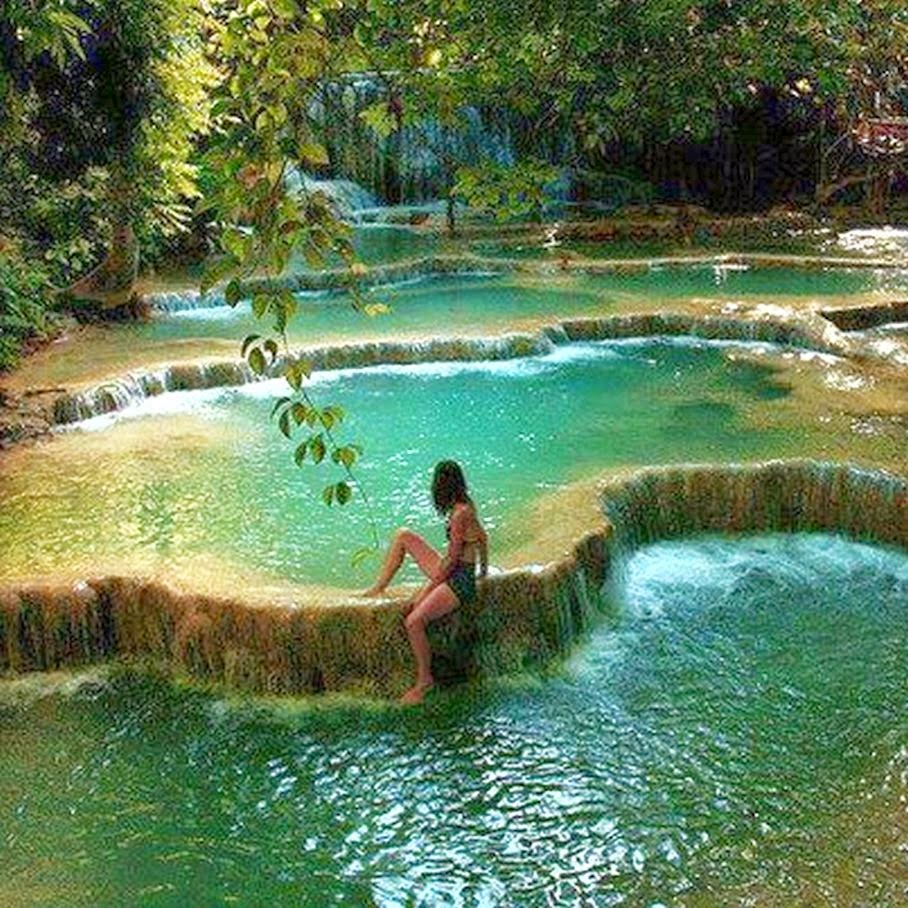 Thailand: The Nicest Pictures: Erawan National Park, Kanchanaburi