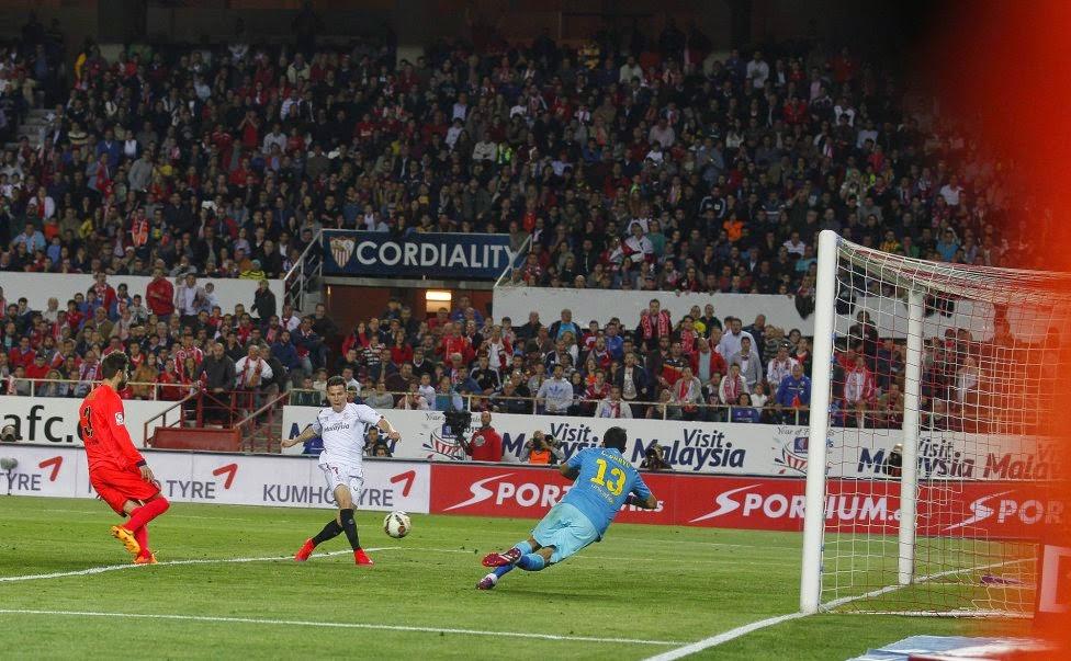 Sevilla - FC Barcelona Liga 2015