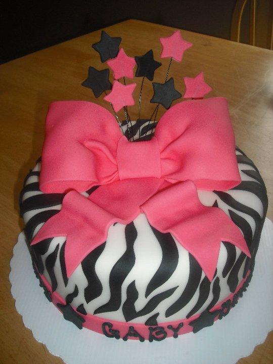 Cake With Zebra Design : Sprinklebelle Cakes: Zebra Print Cake