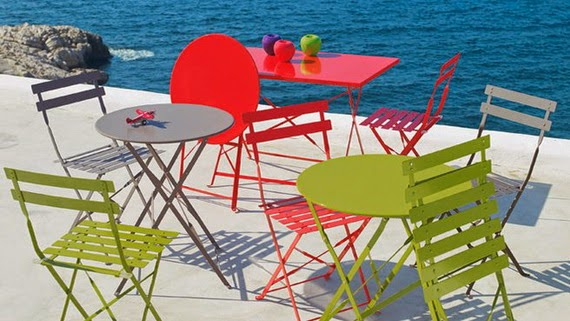 colorful outdoor chairs in the beach space | Manufacturers Outdoor Furniture