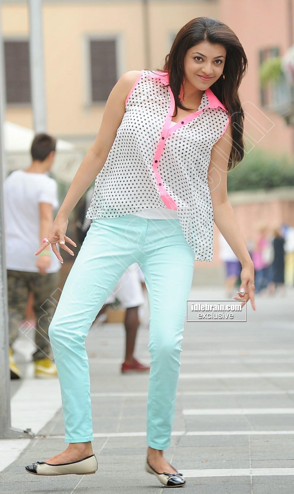 Kajal Agarwal jeans