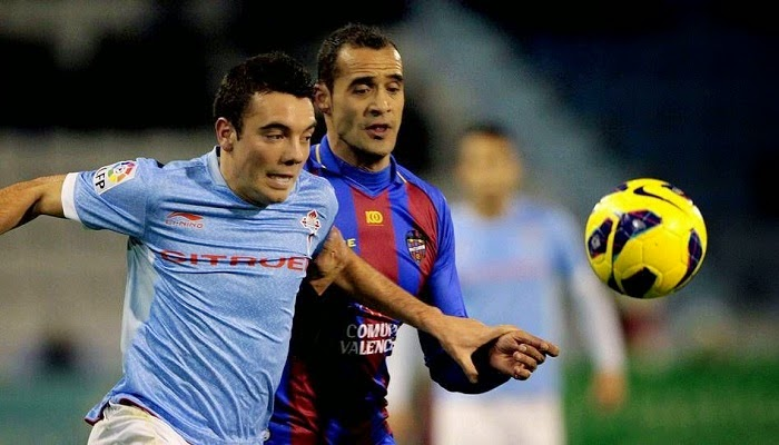 Levante vs Celta Vigo en vivo