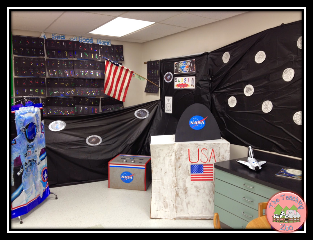 nasa mission control dramatic play ideas - photo #40