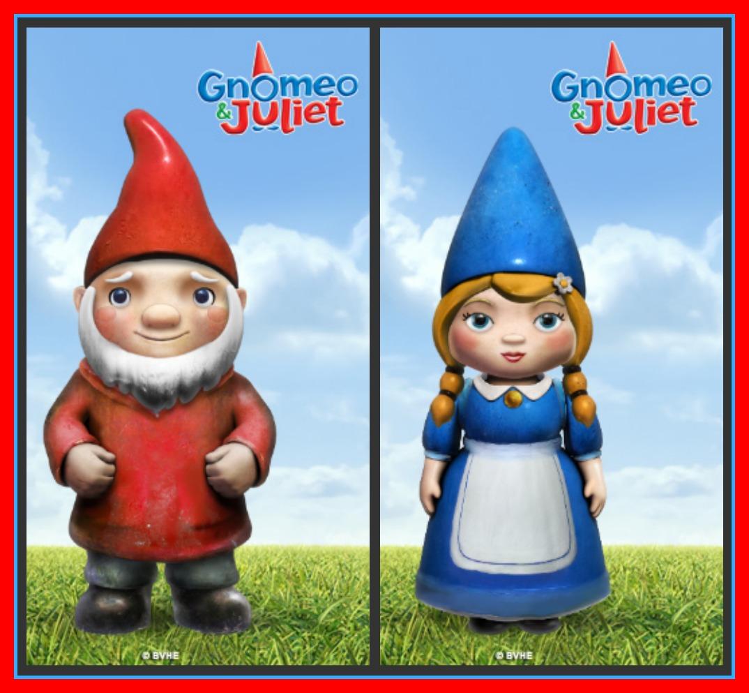 romeo and juliet vs gnomeo and