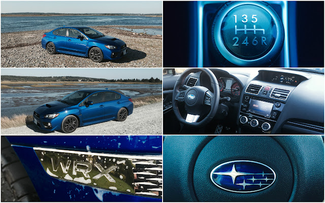 2016 Subaru WRX Sport Rally Blue