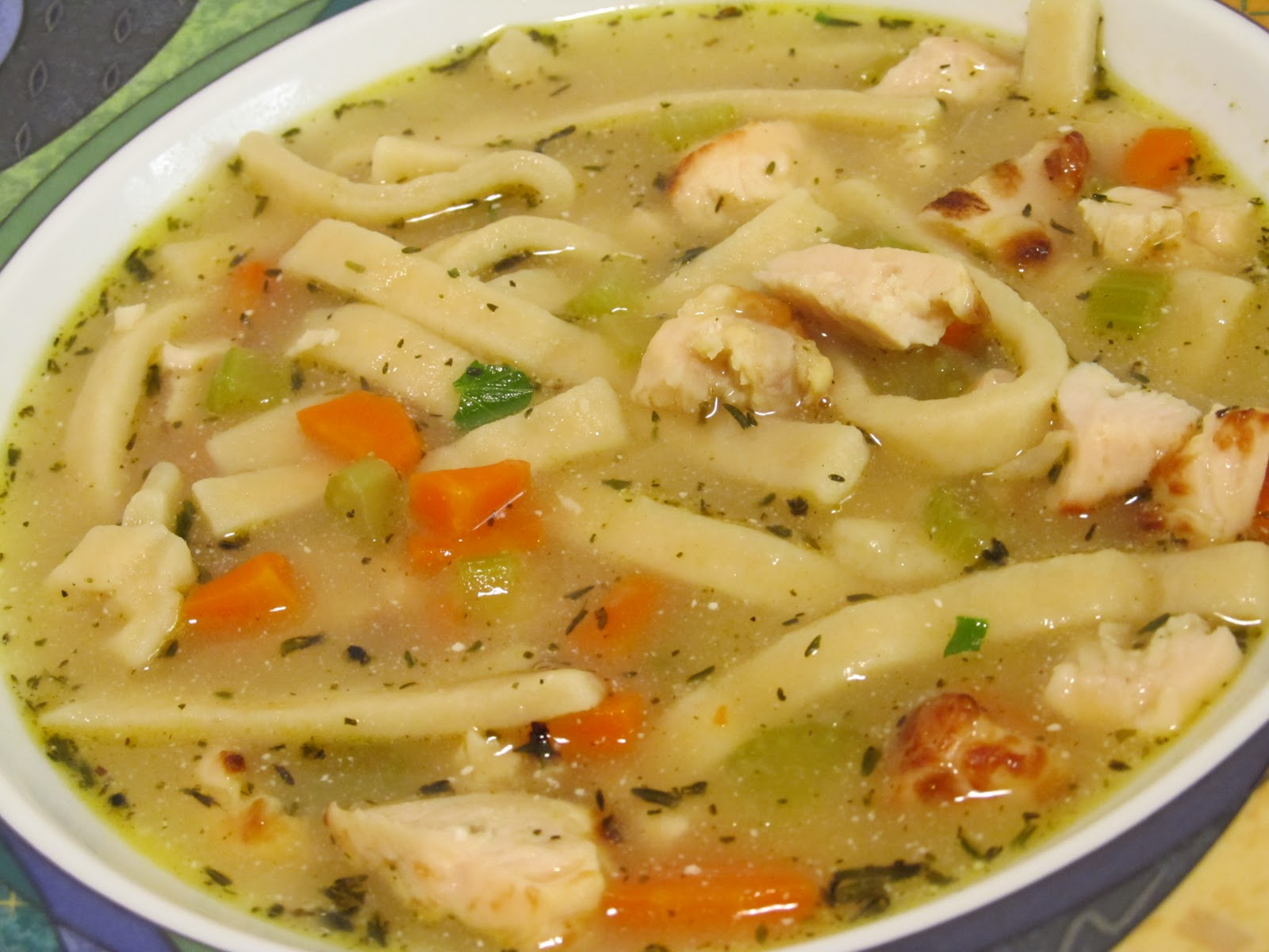 for noodle chicken soup Chicken Soup Jenn's Noodle Food Journey: