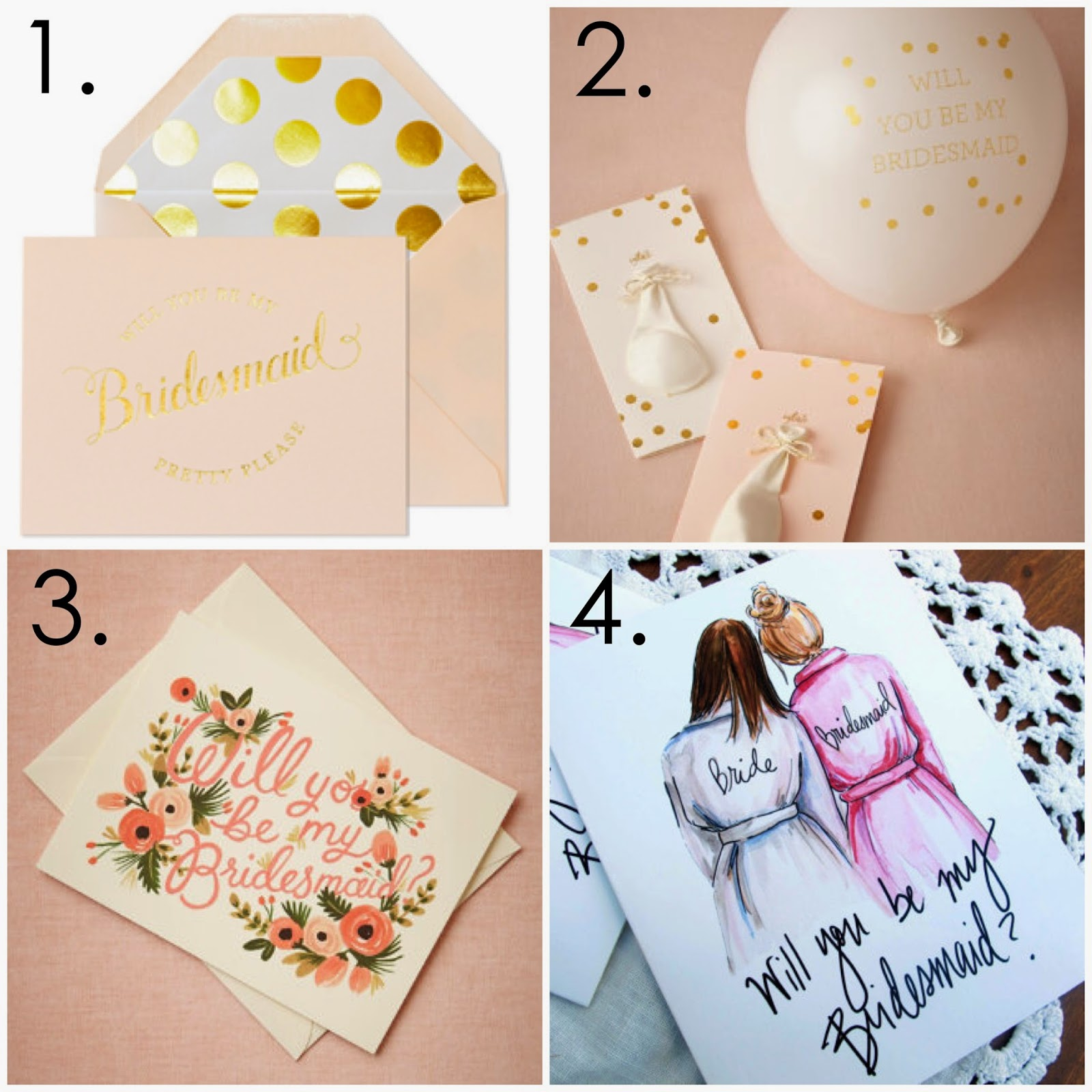 Cute Cards to ask your bridesmaids, Cute Cards to ask your bridesmaids ideas, ideas on how to ask your bridesmaids, ideas on how to ask your maid of honor, adorable cards, gold foiled bridesmaid cards