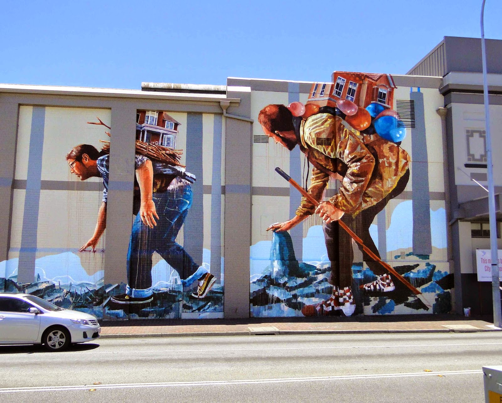 Our friend Fintan Magee is currently in Perth, Australia where he was invited to work on brand new piece.