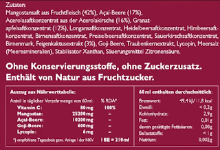 test blog erfahrung bewertung mangostan gold fruchtsaft anti aging pflege creme