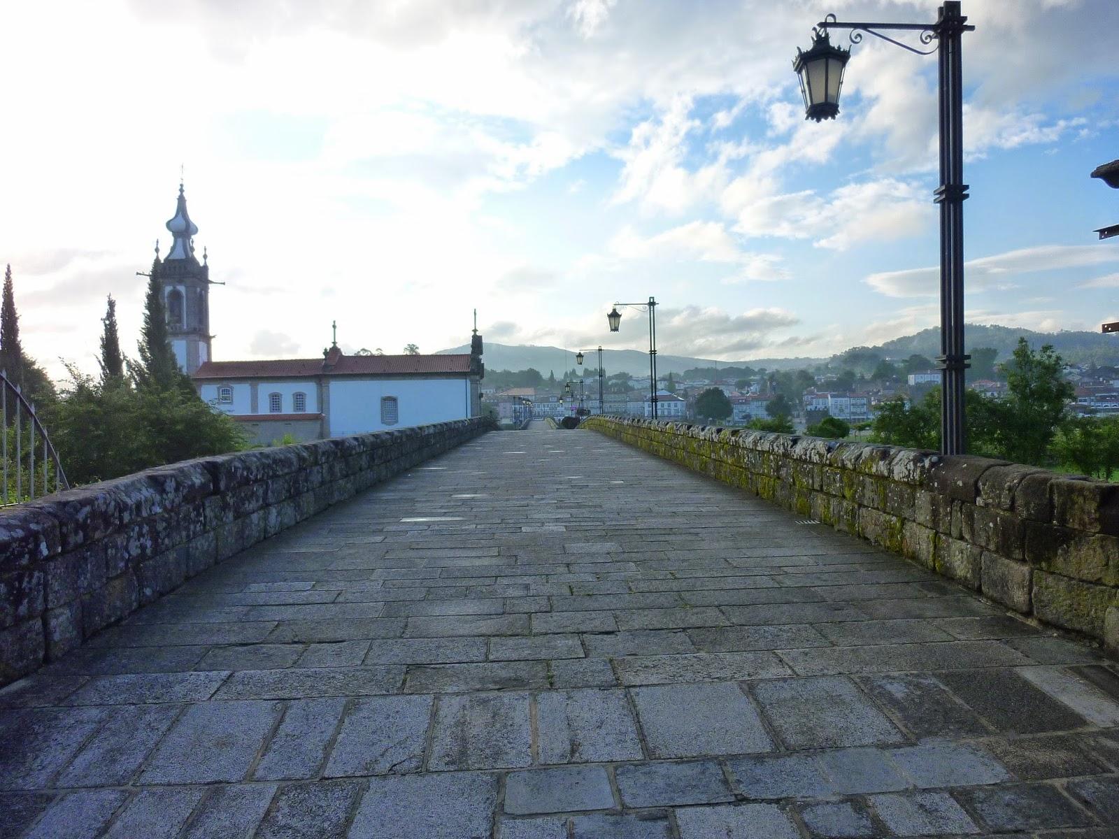 Su strade e sentieri camino torres 16 tappa ponte de for Camino sul ponte rialzato