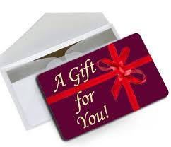 gift card for you