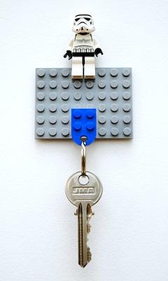 how to make a lego key holder