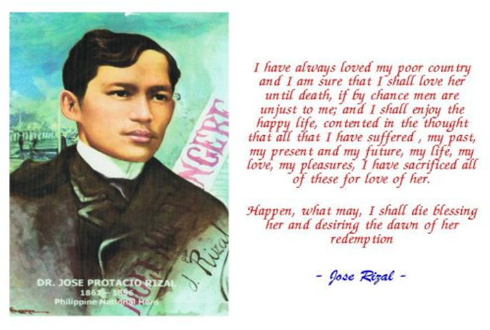 man in dapitan essay by jose rizal Rizal essays: over 180,000 rizal essays, rizal term papers, rizal research paper, book reports 184 990 essays, term and research papers available for unlimited access.