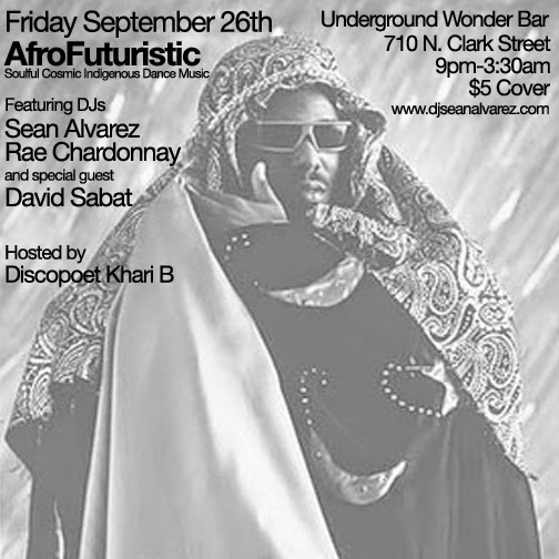 Friday 9/26: AfroFuturistic @ Underground Wonder Bar