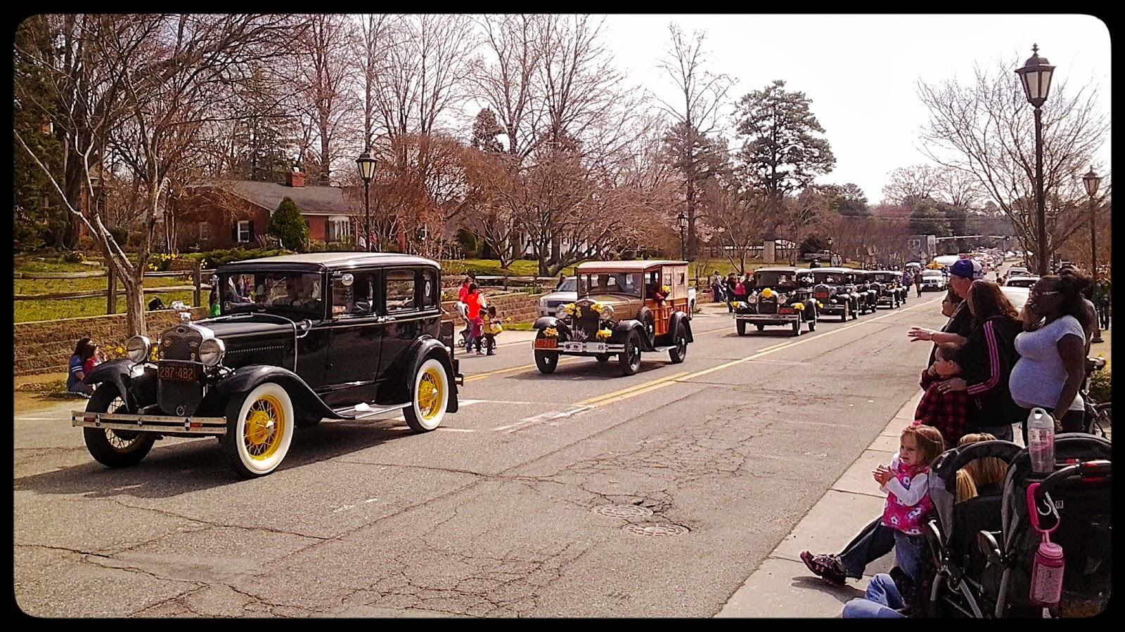 Parade at 28th Annual Gloucester Daffodil Festival via foobella.blogspot.com