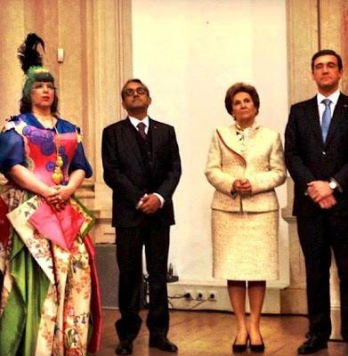 Joana Vasconcelos, Maria Cavaco Silva, Pedro Passos Coelho