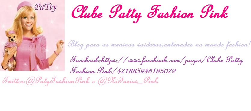 clube patty fashion pink