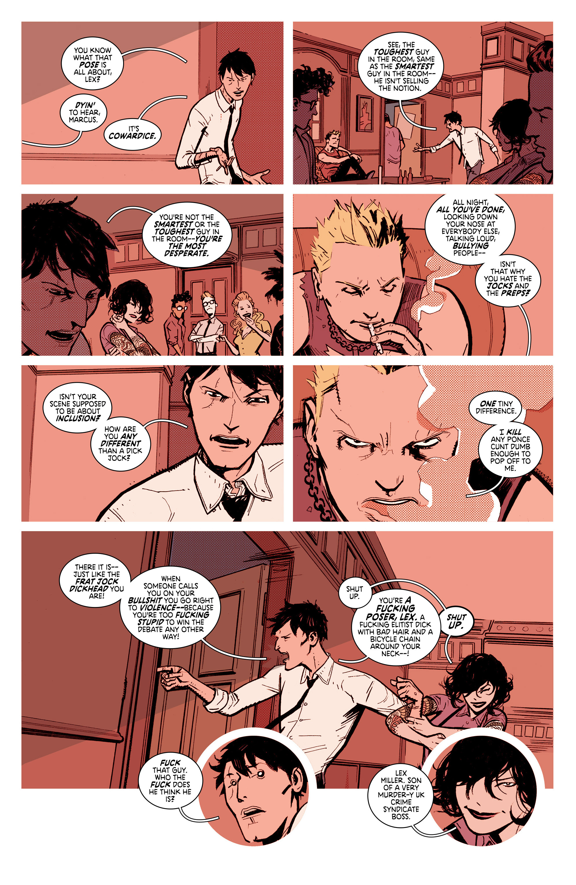 Read online Deadly Class comic -  Issue #7 - 14