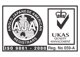 AJA ISO 9001-2000 Logo Vector download free