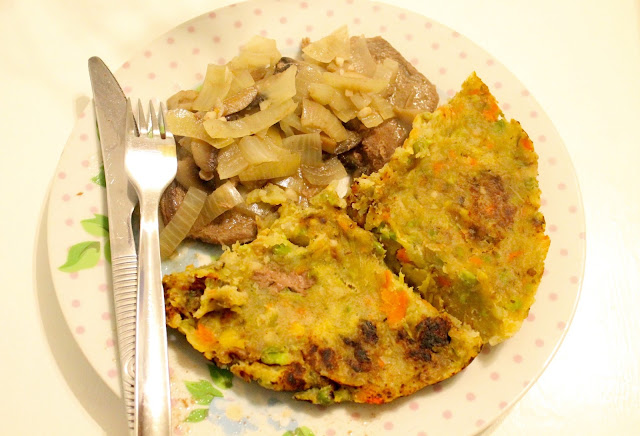 slimming world steak & bubble and squeak