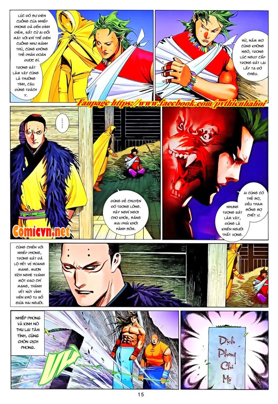 Phong Vân chap 650 Trang 15 - Mangak.info
