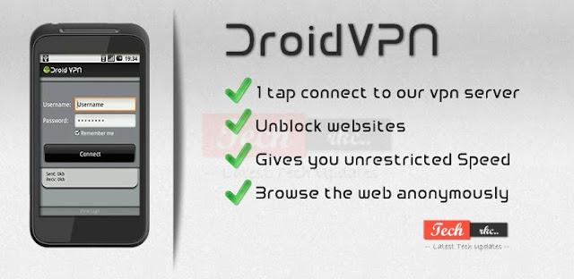 Airtel Free 3G TCP Trick Via DroidVPN July 2015