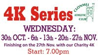 4k series in Clonmel - Every Wed in Nov 2019
