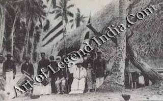 An early photograph shows the Royal Family Western-style clothing outside their residence on the island of Raiatea. Before the advent of Christianity, the nearby island had been Tahiti's centre of worship.