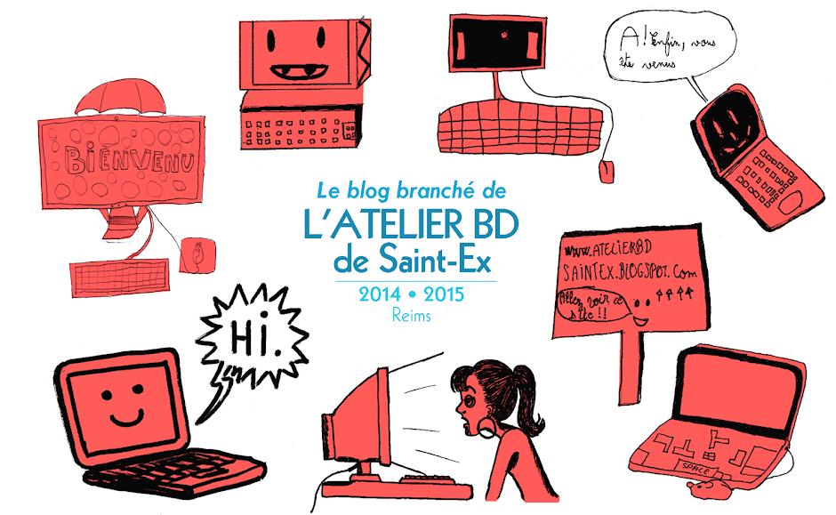 Atelier bd à Saint Ex - Reims