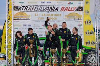 Simone Tempestini si Dorin Pulpea - locul 1 Transilvania Rally 2015