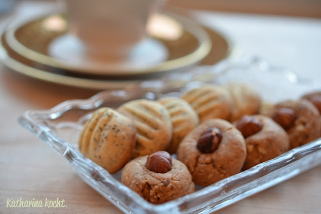zitrone mohn kekse cookies pltzchen haselnuss