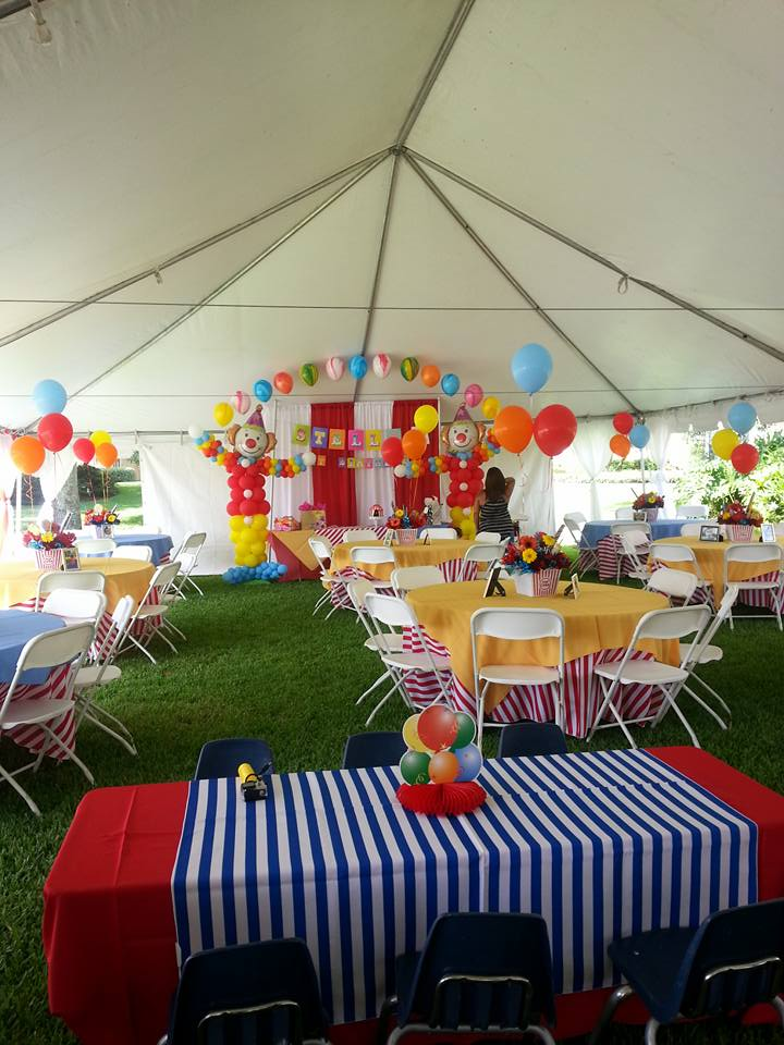Party People Event Decorating Company & Party People Event Decorating Company: Circus theme First Birthday ...