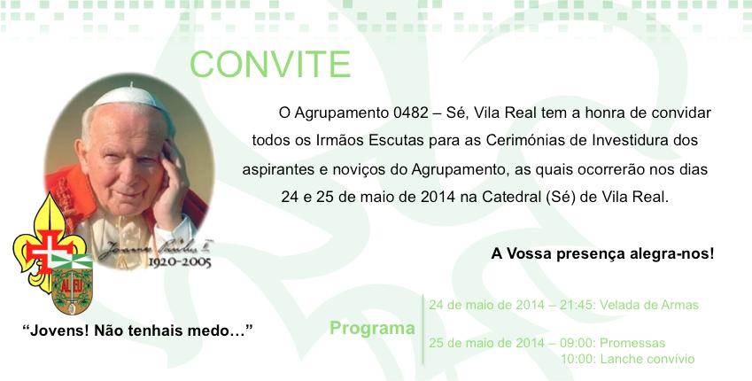 Cerimónias de Investidura - 482