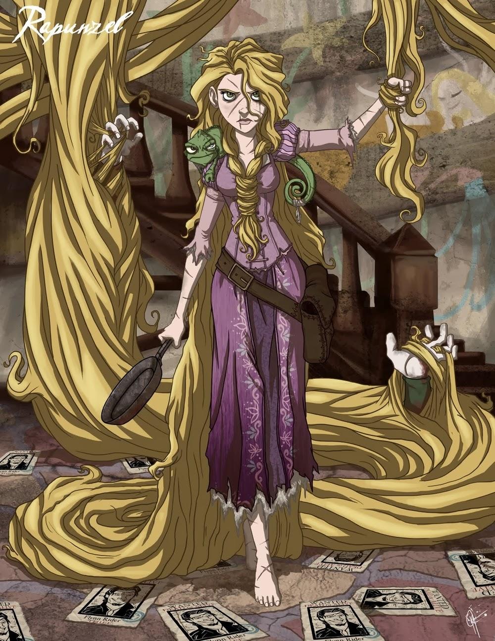 11-Rapunzel-Jeffrey-Thomas-Twisted-Princess-www-designstack-co