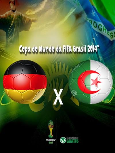 Alemanha x Argelia Oitavas de Final Copa do Mundo 2014
