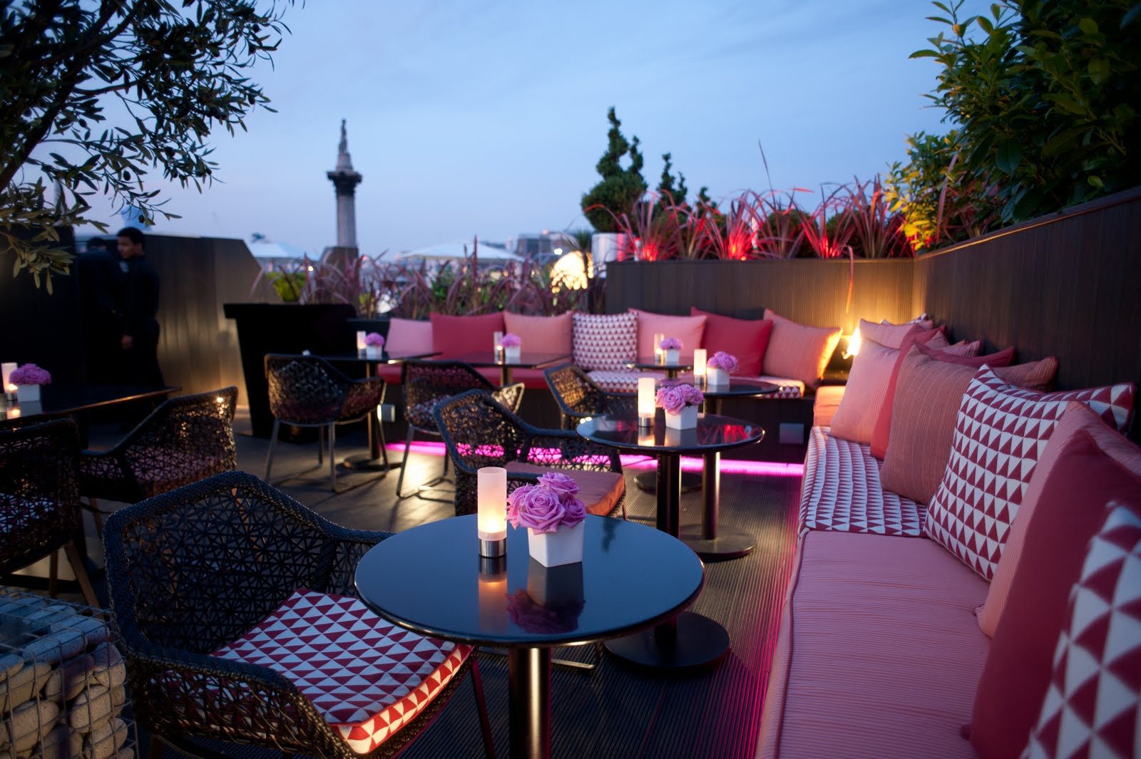 London bars keith barker main drinks london dry for Rooftop bar and terrace