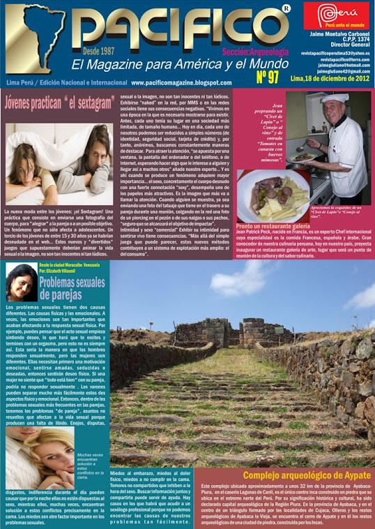 Revista Pacífico Nº 97 Arqueología