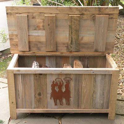 Bench and Storage