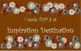 03/2017 Top 3 at Inspiration Destination Challenge Blog