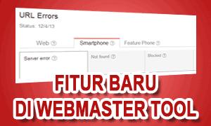 Google Menambahkan Fitur Smartphone Di Webmaster Tool