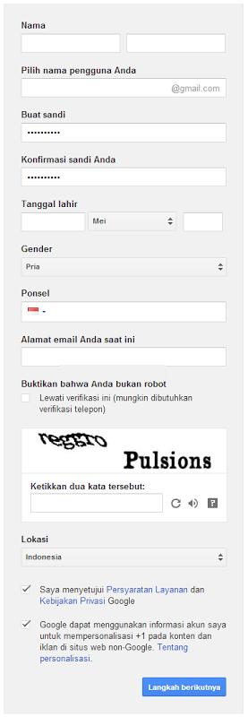 Cara Membuat Email Gmail Dengan Mudah