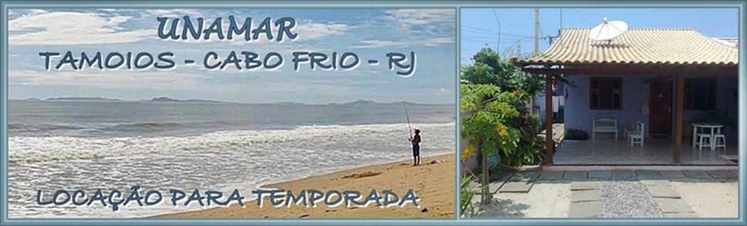 CASA em UNAMAR - Cabo Frio para TEMPORADA